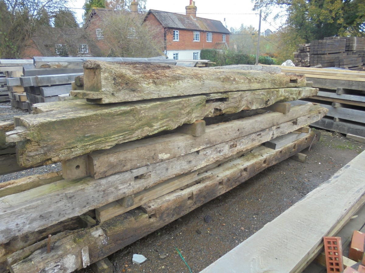 Large Reclaimed Oak Beams Authentic Reclamation