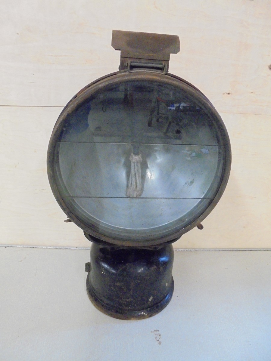 Large Tilley Lamp Authentic Reclamation