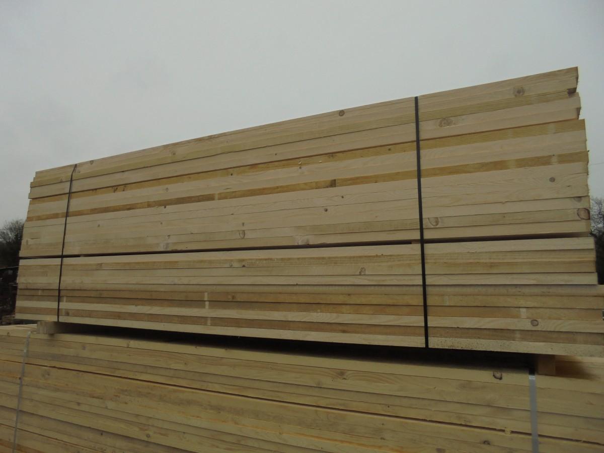 Reject 10' scaffold boards