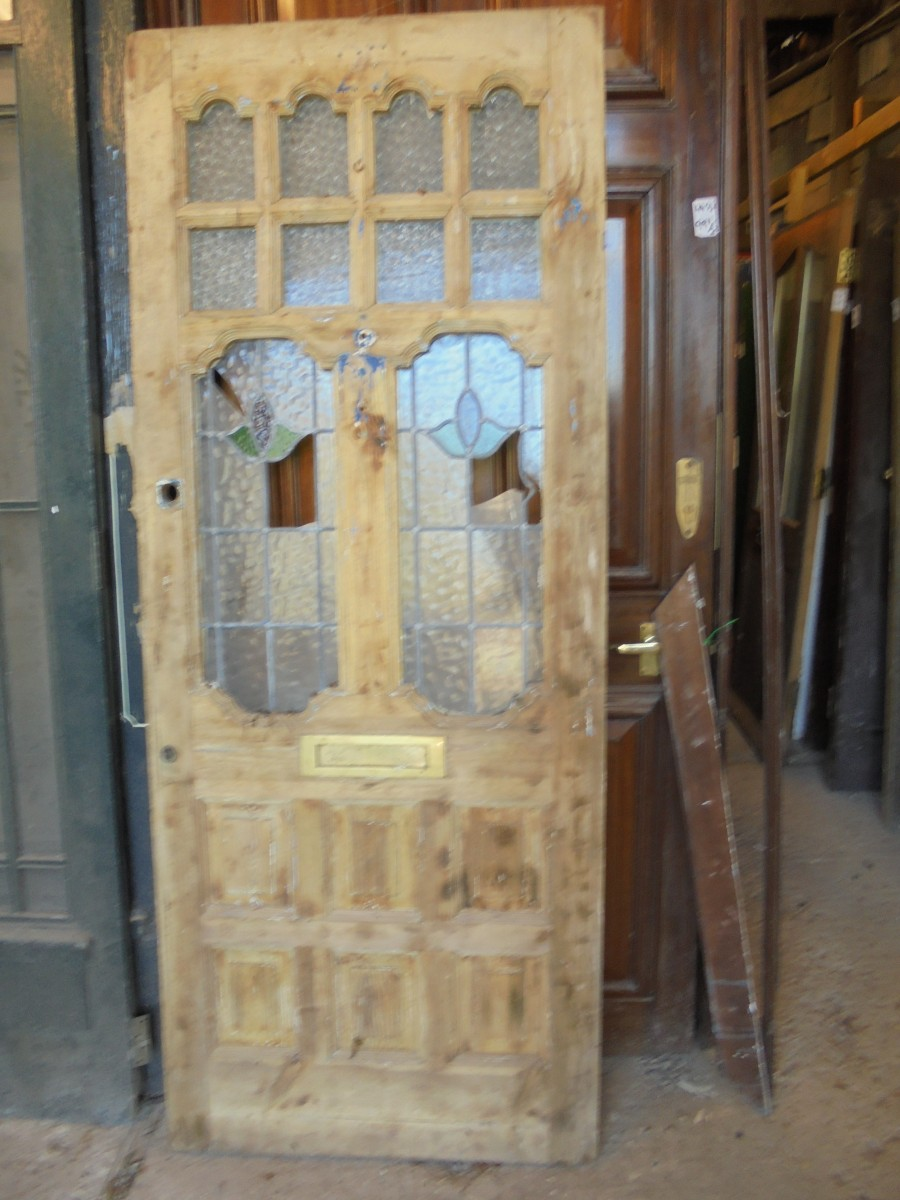 Decorative Glass Front Door Authentic Reclamation