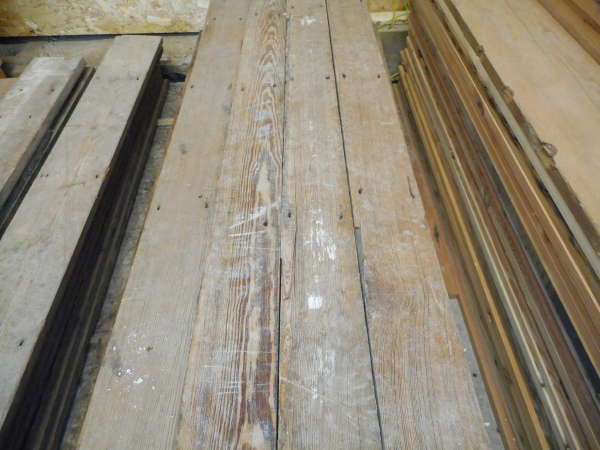 Reclaimed narrow pine flooring authentic reclamtion Salvaged pine flooring