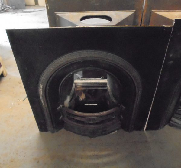 reclaimed fireplace insert