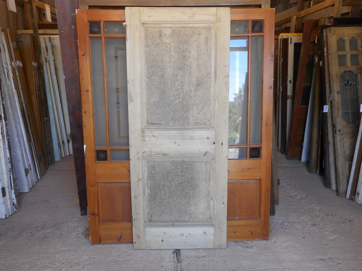 Panelled Wooden Reclaimed Door
