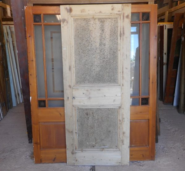 Reclaimed 2 panelled doors