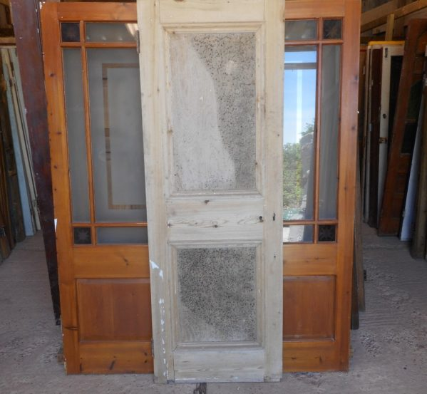 Georgian reclaimed 2 panel door