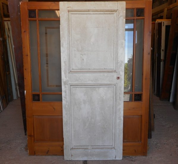 2 panelled reclaimed door