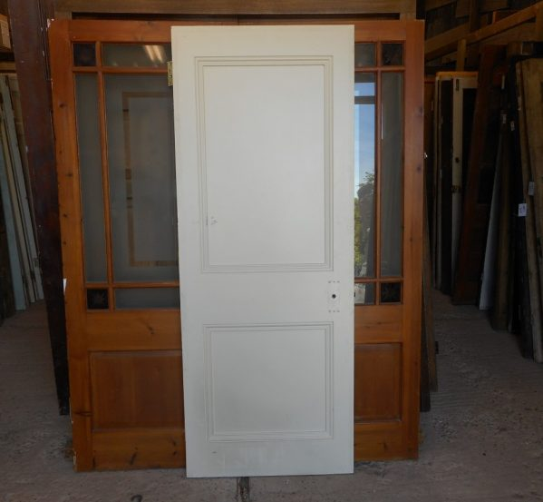 2 panel reclaimed door