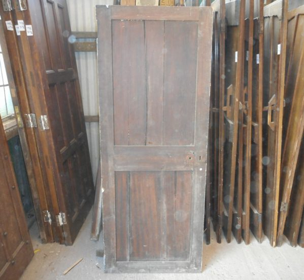 reclaimed Georgian 2 panelled door