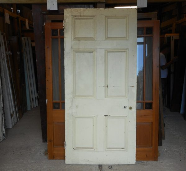 Georgian style 6 panelled door