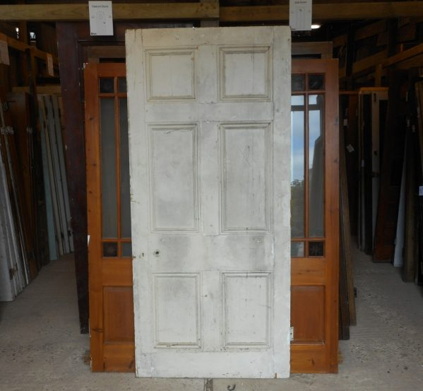 Georgian style 6 panel white door