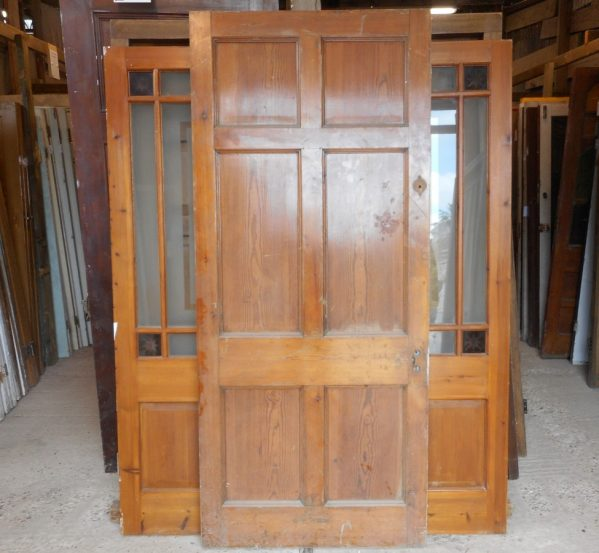 Georgian style 6 panel reclaimed door