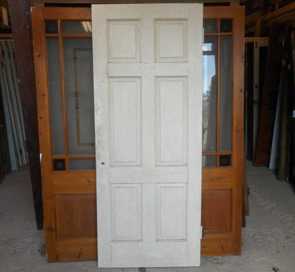 Georgian style 6 panel door