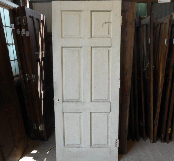 reclaimed Georgian 6 panel door