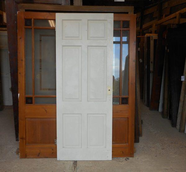 white Georgian 6 panel door