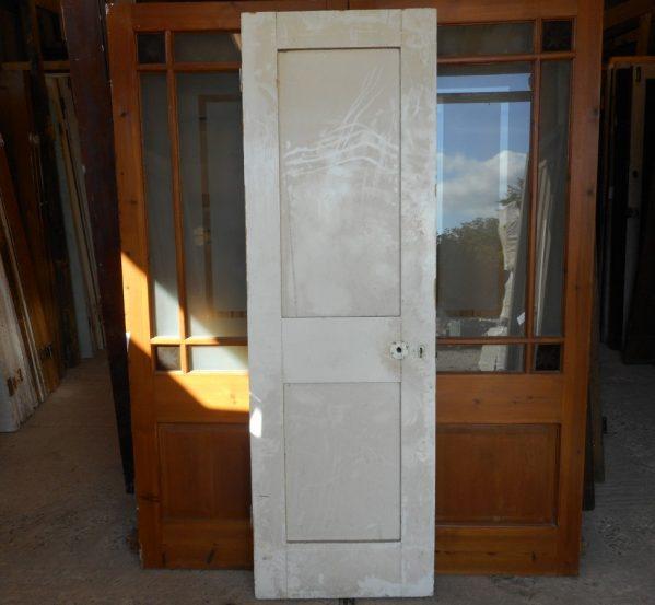 reclaimed 2 panel door