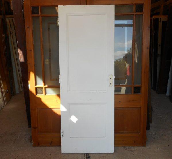 2 panelled reclaimed doors