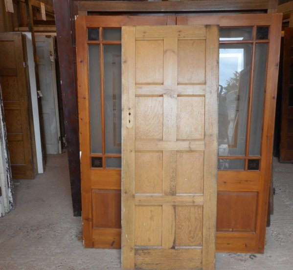 reclaimed 8 panel door