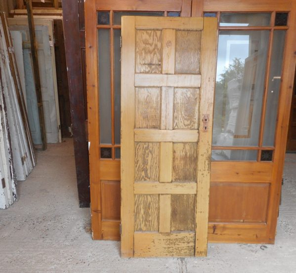 Reclaimed 8 panelled wooden doors