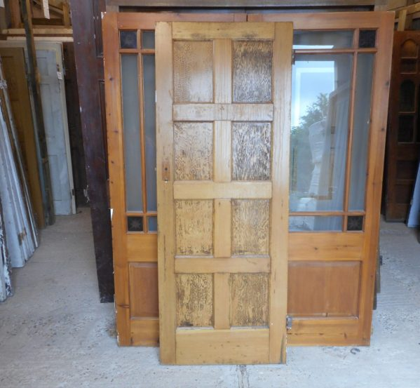 Reclaimed 8 Panelled Doors