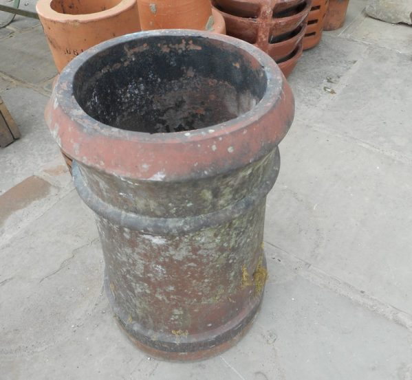 reclaimed terracotta cannon pot