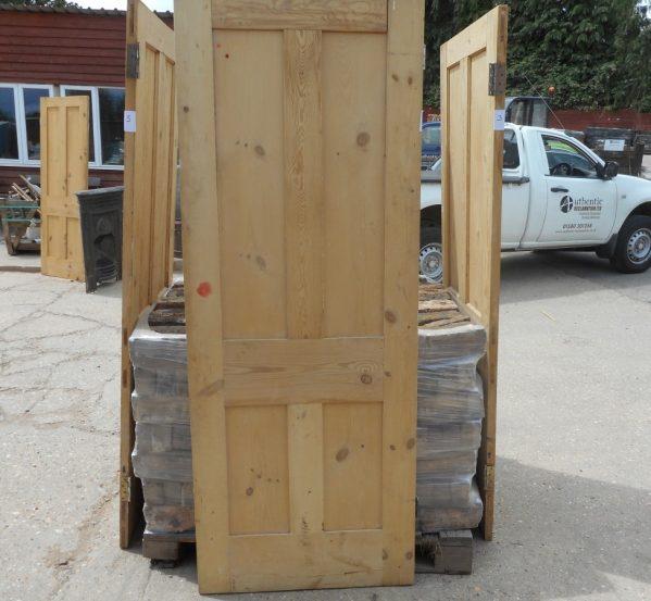 reclaimed stripped Victorian 4 panel door