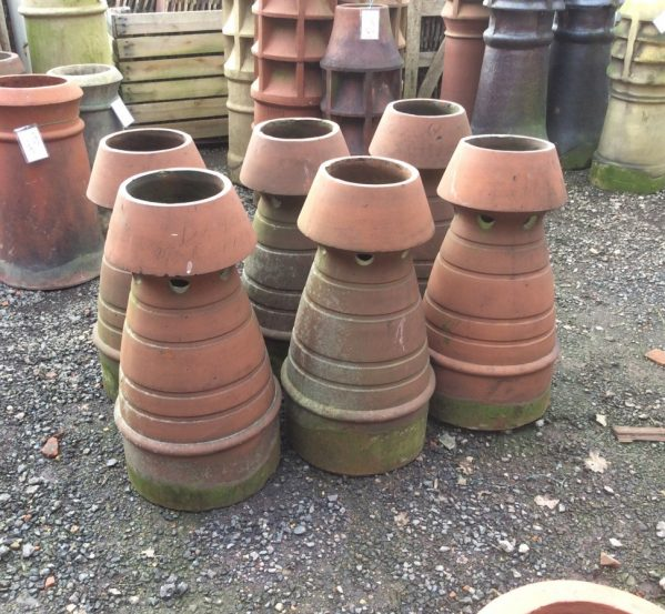 decorative reclaimed chimney pots