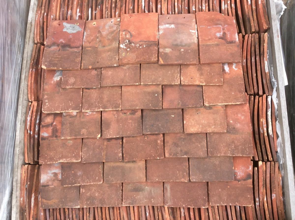 Reclaimed Kent Peg Tiles Authentic Reclamation