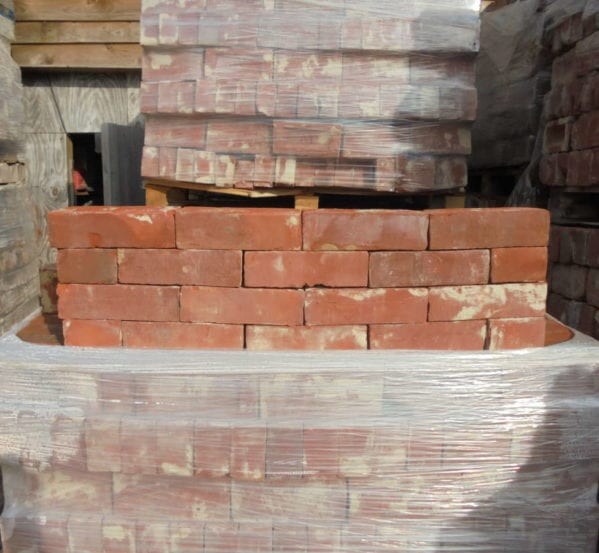Handmade orange/Red Bricks