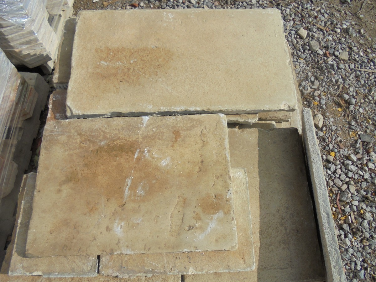 Reclaimed Concrete Paving Stone Previously Used Internally