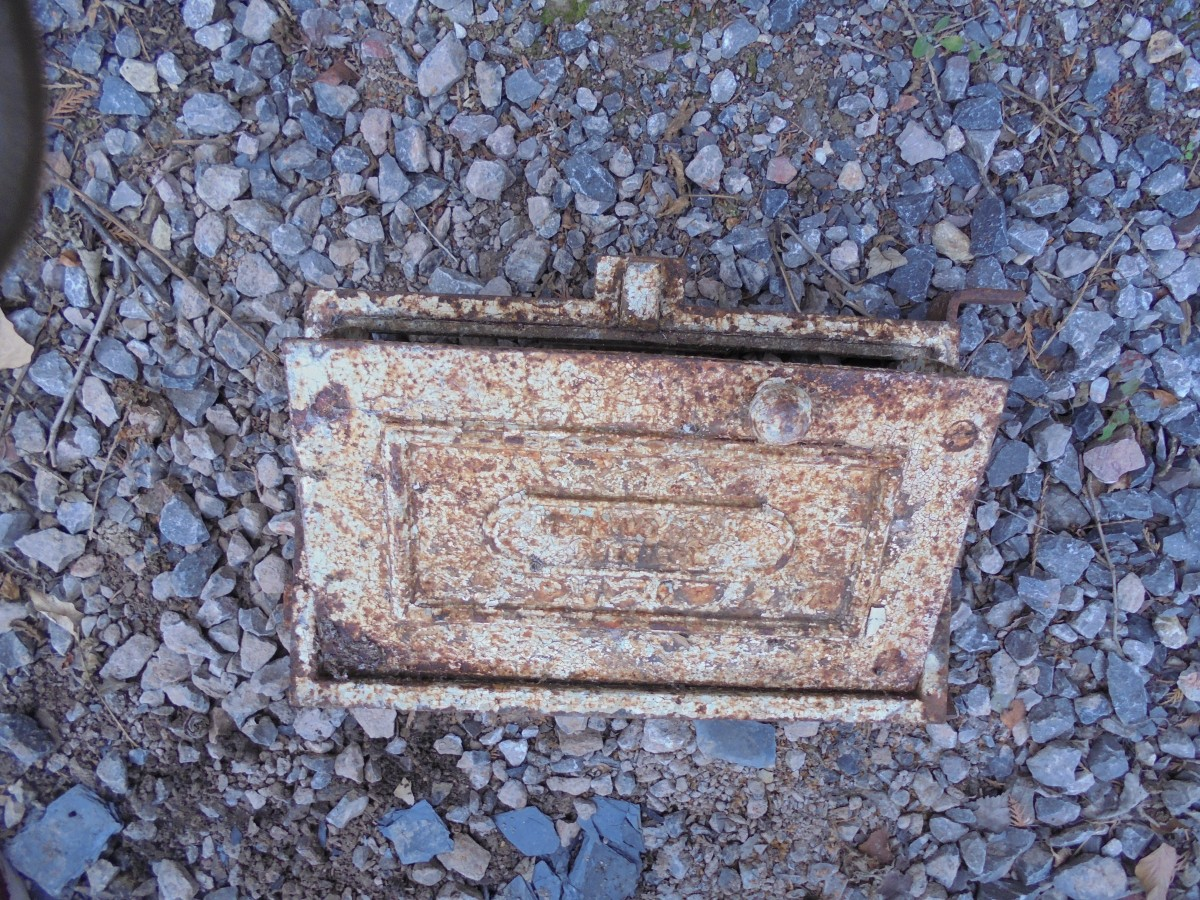 Old Soot Box for Chimney