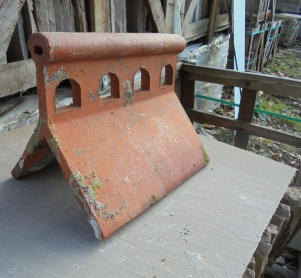 Reclaimed Ridge Tiles In Stock Authentic Reclamation