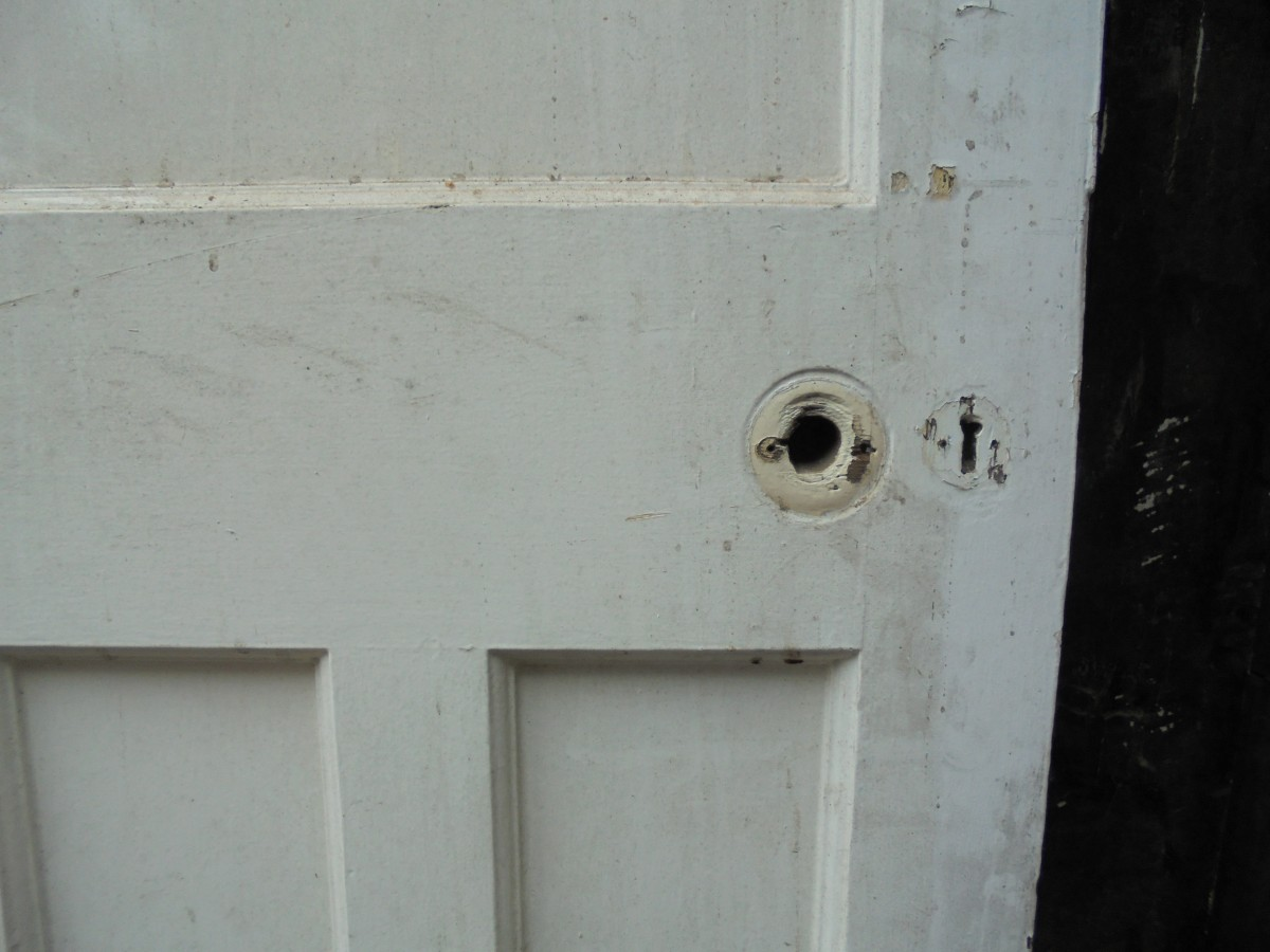 Reclaimed 1930 39 s 1 panel over 3 panel door authentic for 1 over 3 panel door
