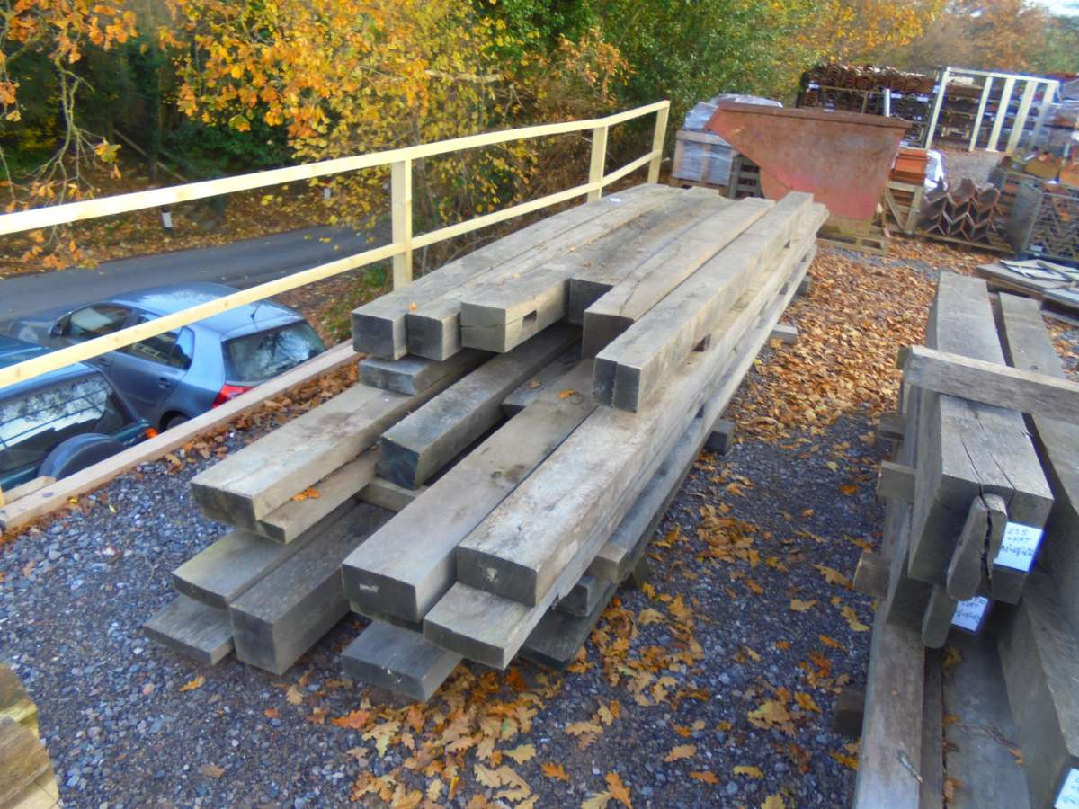 Seasoned Oak Beams