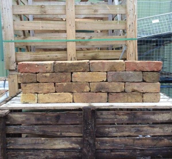 Reclaimed yellow red mix stock bricks