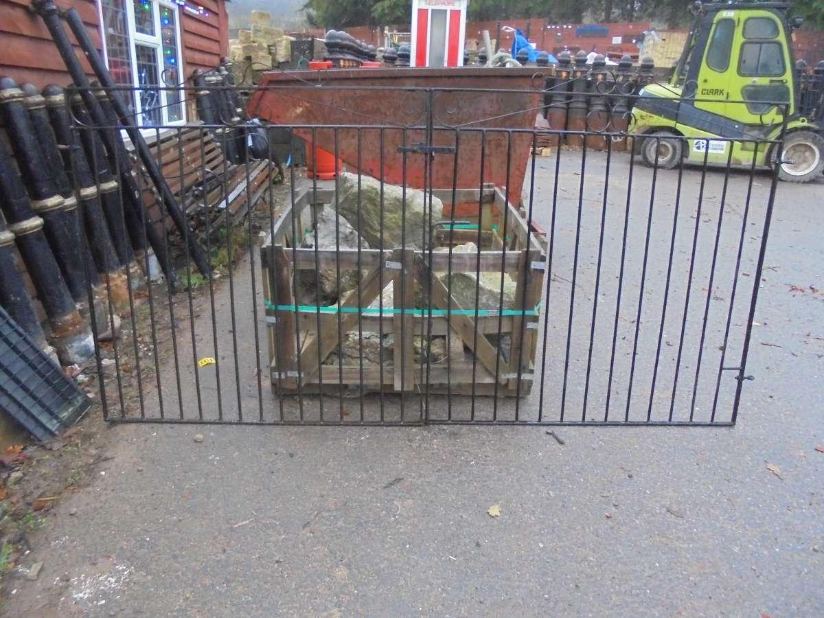 Modern Wrought Iron Gate