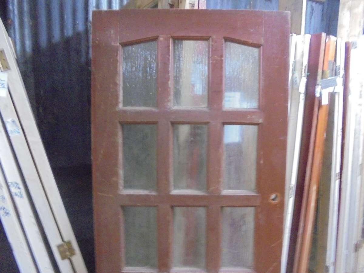 Half Glazed 15 Panel Door Authentic Reclamation
