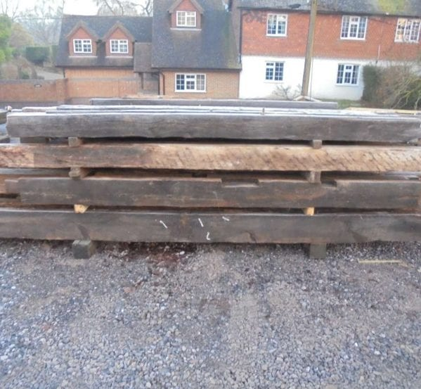 Selection of Oak beams