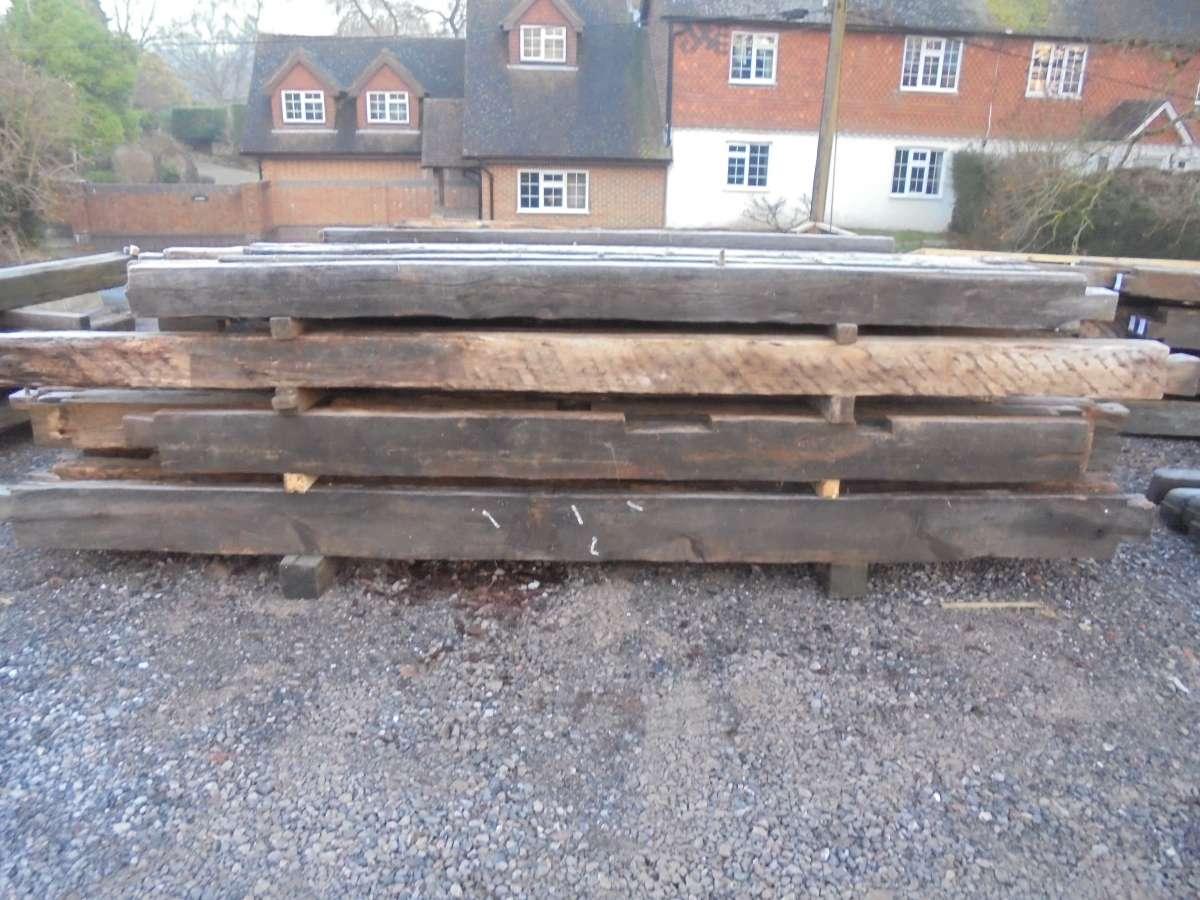 Selection of Oak beams