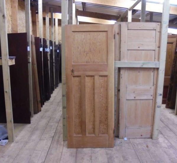 Reclaimed stripped 1 over 3 panel door authentic reclamation for 1 over 3 panel door