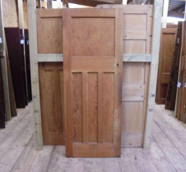 Reclaimed 1930 39 s 1 over 3 panel door authentic reclamation for 1 over 3 panel door