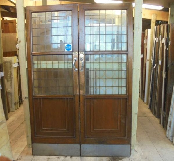 reclaimed selfridges half glazed doors