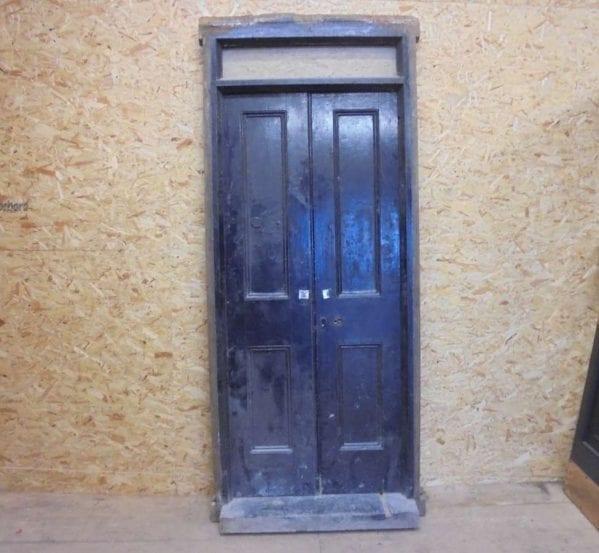 reclaimed oak feature door
