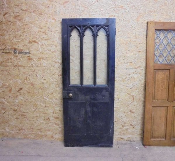 reclaimed gothic door