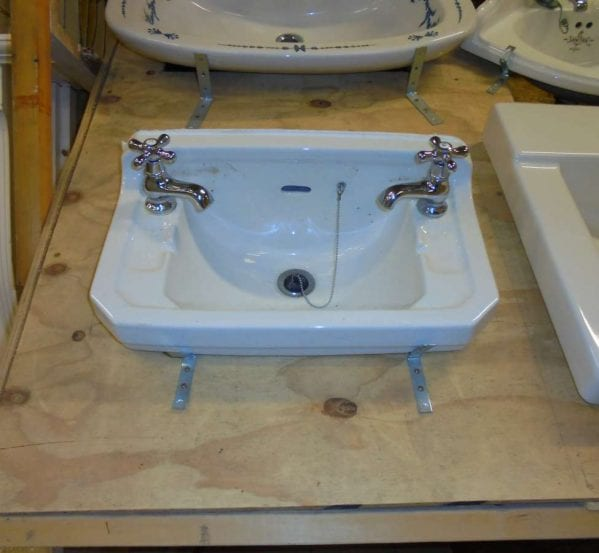 a small reclaimed sink