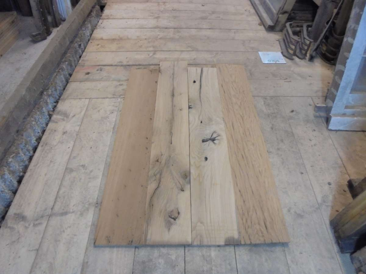 rustic re-milled oak floorboards