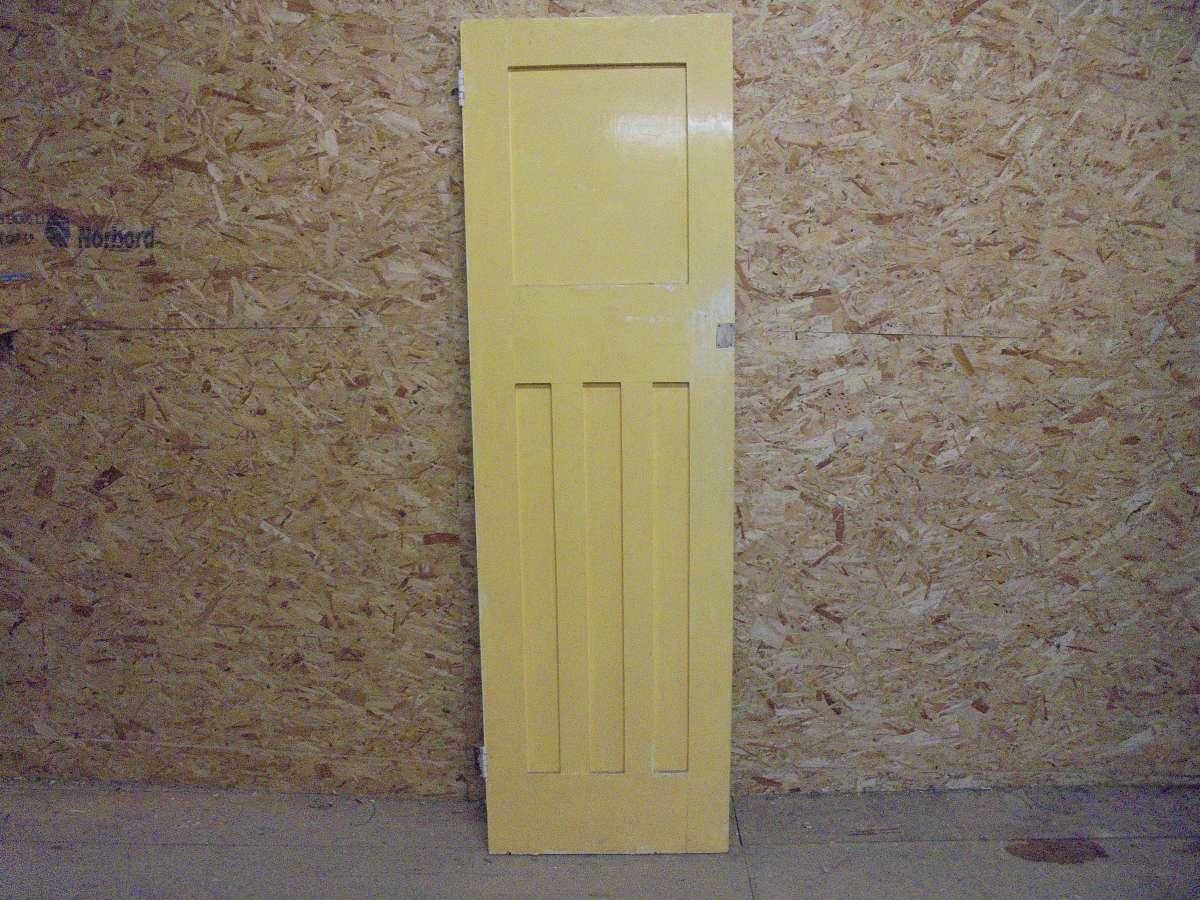 Reclaimed painted 1 over 3 panel door authentic reclamation for 1 over 3 panel door