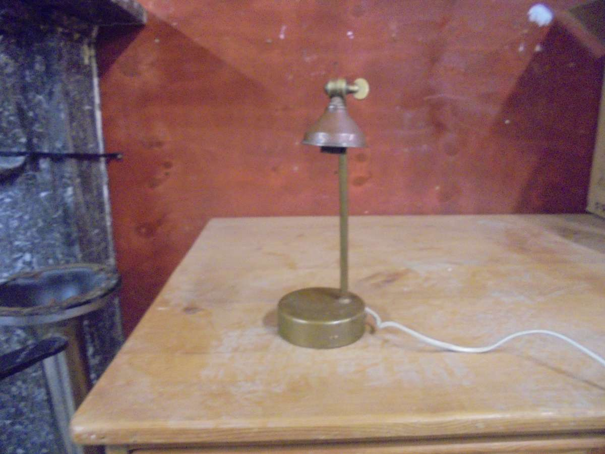 Small Metal Reading Lamp