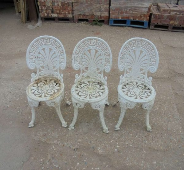 Reclaimed Outdoor Aluminium Garden Chairs