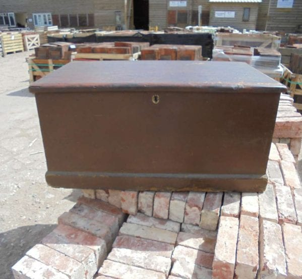Small Reclaimed Pine Blanket Box