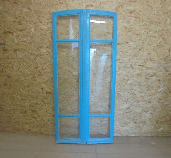 Painted Reclaimed French Window